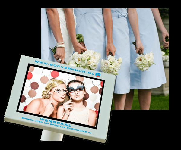 Videogastenboek  huren op uw huwelijk
