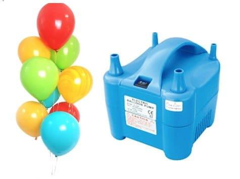 ballonnenpomp huren - ballonnen snel opblazen voor huwelijk, evenement of verjaardag