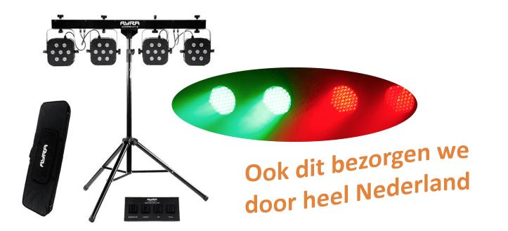 Huur Discolampen - Disco verlichting huren, Discofeestje, verjaardag, bruiloft evenement, gratis transport