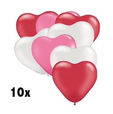 Ballonnen Hartjes voordelig en leuk voor uw huwelijk