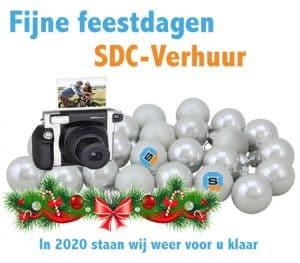 Kerstwens SDC-Verhuur - Verhuurbedrijf Polaroid - FujiFilm Camera's en veel meer